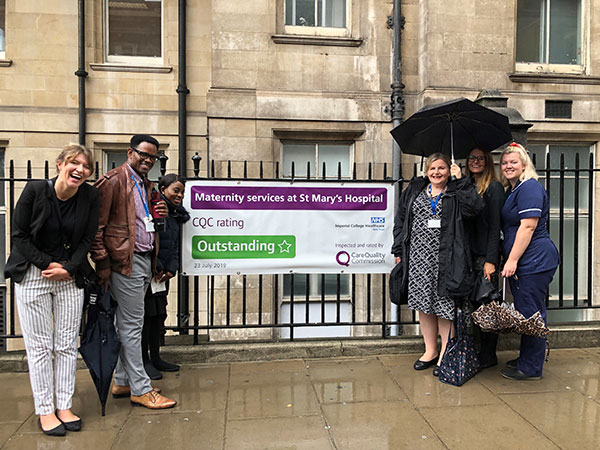 Donna Ockenden visits Imperial College Healthcare Trust