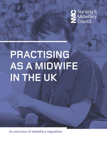 Practising as a midwife in the UK