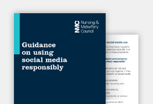 Social networking guidance publication cover
